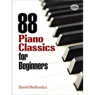 88 Piano Classics for Beginners (Dover Music for Piano Series)