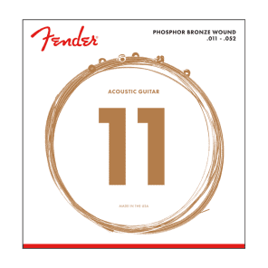 Fender 60CL Phosphor Bronze Acoustic Strings for sale