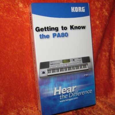 Korg PA80 Instructional Video for Keyboard