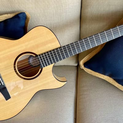 Marchione OMC / The One Featured in Premier Guitar Mag / Spruce Top / Maple Back and Sides / Pick-Up for sale