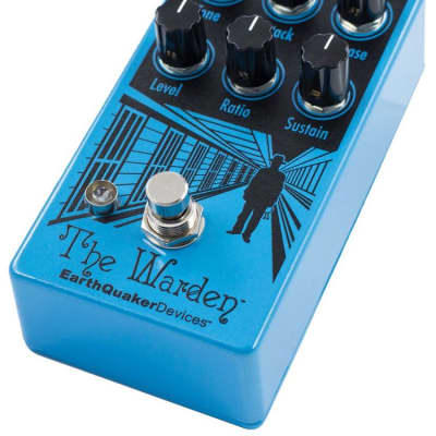 EarthQuaker Devices The Warden Optical Compressor New for sale
