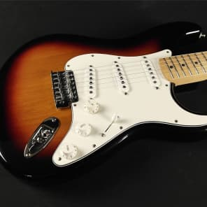 Fender Standard Stratocaster - Maple Fingerboard - Brown Sunburst - No Bag (338) for sale