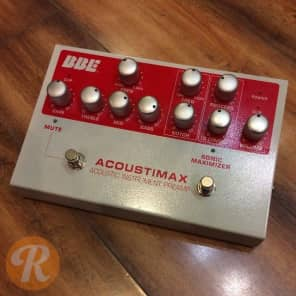 BBE Acoustimax Sonic Maximizer Instrument Preamp Pedal