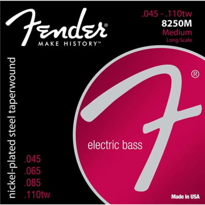 FENDER 8250 .045-.110tw Electric Bass Strings