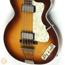 Hofner Club Bass H500/2 2000s Sunburst image