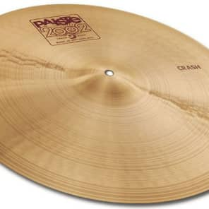 "Paiste 16"" 2002 Crash Cymbal Traditional"