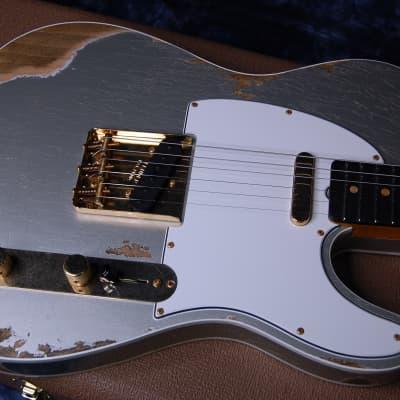 NEW! Fender Custom Shop '60 Reissue Telecaster Custom Shop Relic Modern Spec Authorized Dealer 7lbs for sale