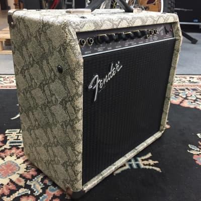 Fender Champ 12  1989 Snakeskin for sale