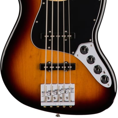 Deluxe Jazz Bass V Active - 3 Colors Sunburst for sale