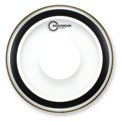 Aquarian Studio X Clear Drumhead w/ Power Dot 12 in