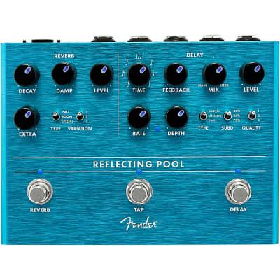 Fender Reflecting Pool Delay & Reverb Effects Pedal Regular