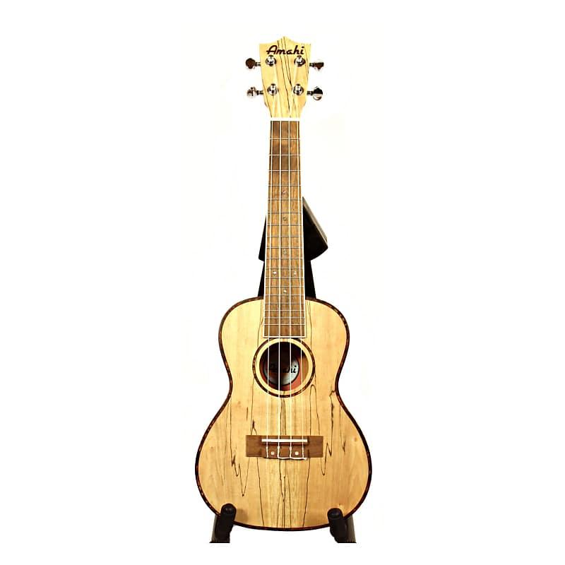 amahi uk770c concert ukulele spalted maple w reverb. Black Bedroom Furniture Sets. Home Design Ideas
