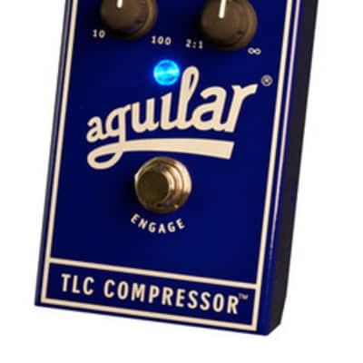 Aguilar TLC Compressor Guitar Bass Effects Pedal