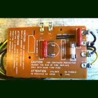 Korg DW 6000 Fuse Board (in working order.)