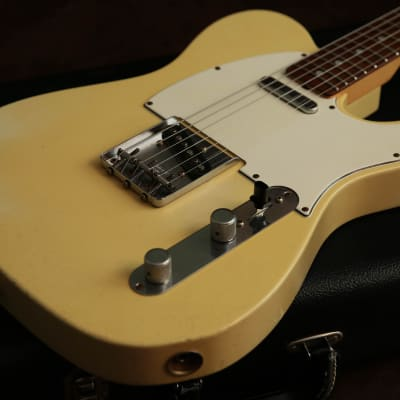 Fender Custom Shop 67' Relic Telecaster Blonde & COA, Fender Case & Tags for sale
