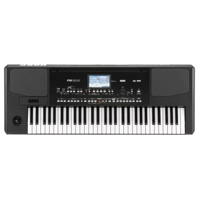 Korg PA300 61-Key Professional Arranger Keyboard with Color TouchView Display