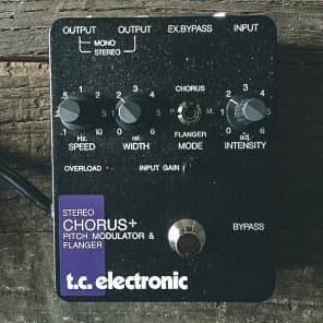 TC Electronic Stereo Chorus + Pitch Modulator & Flanger