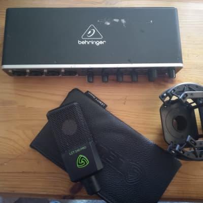 Behringer U-PHORIA UMC404HD 4x4 USB Audio Interface Plus Lewitt 240 Pro Condenser Mic