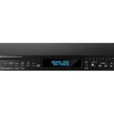 DENON PROFESSIONAL DN-700CBRS-232C and full network control. plays CD, USB, Bluetooth