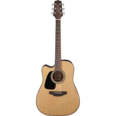 Takamine GD10CE LH NS G10 Series Dreadnought Cutaway Acoustic/Electric Guitar (Left-Handed) Natural Satin