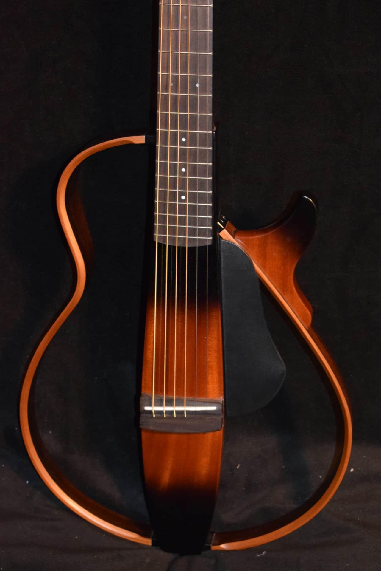 Yamaha slg200s tbs silent steel string tobacco sunburst for Yamaha slg200s steel string silent guitar