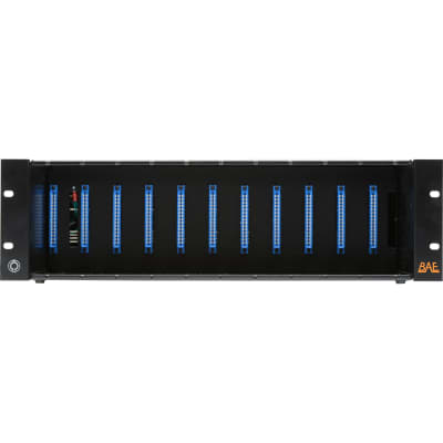 New BAE Audio 11SPACERPS 11 Space Rack w/ Power Supply 48V PSU 500 Series Module Chassis Rackmount