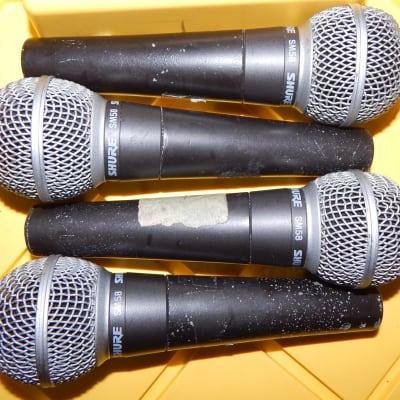 Shure SM58 microphones set of 4