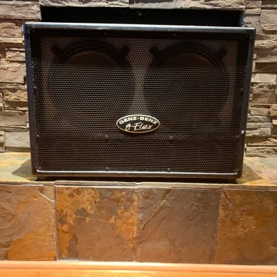 Genz Benz G-Flex 2x12 Guitar Cabinet 2004 Black for sale
