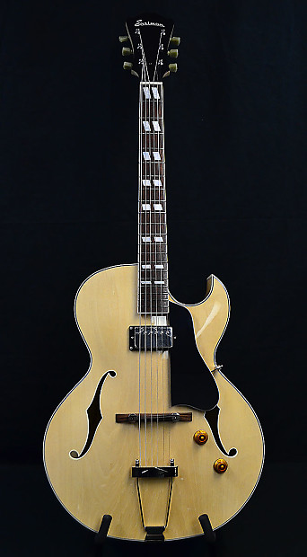 eastman ar371ce bd blonde archtop electric guitar with case reverb. Black Bedroom Furniture Sets. Home Design Ideas