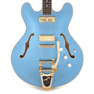 Eastman Custom Edition T486 Semi-Hollow Celestine Blue Built by Otto D'Ambrosio (Serial #119028) for sale