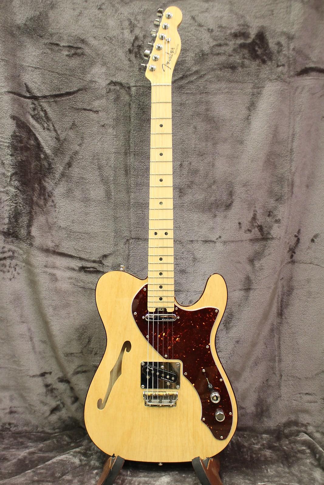 Fender American Elite Telecaster Thinline 2016 Natural