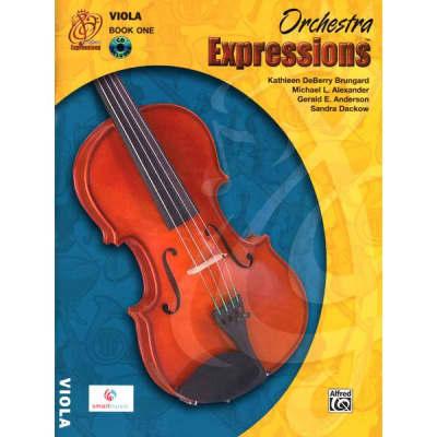 Orchestra Expressions: Viola - Book 1 (w/ CD)