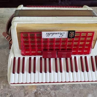 "Scandalli 16"" keyboard lightweight 2/4 reed Italian"