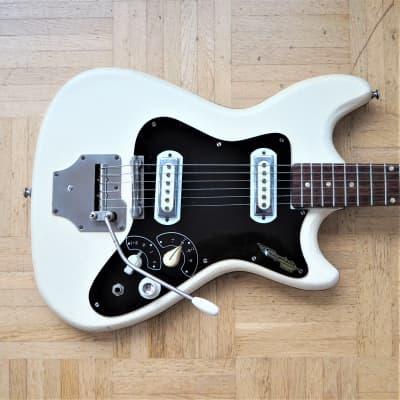 Klira Triumphator Ohio guitar ~1965 white tolex cover - made in Germany for sale