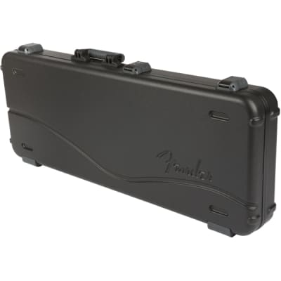 Fender Deluxe Molded Case for Stratocaster/Telecaster - Black for sale