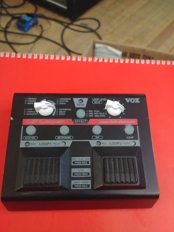Vox VLL-1 Lil/' Looper Multi effect Pedal little looper