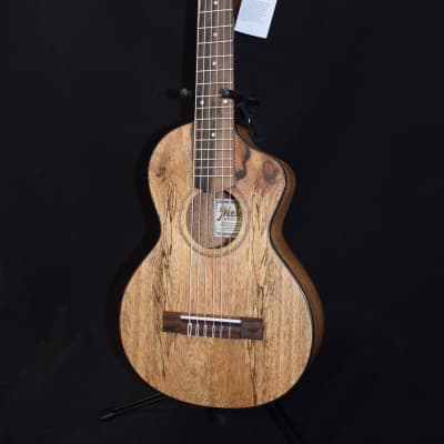 Mele Spalted Mango Cutaway Guitarlele w/ MiSi pick up