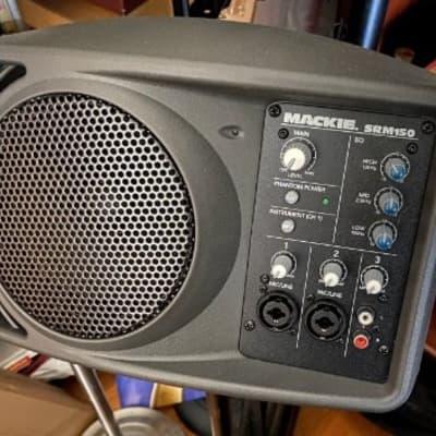 Mackie SRM150 Compact 150-Watt Active PA Speaker (Pair)