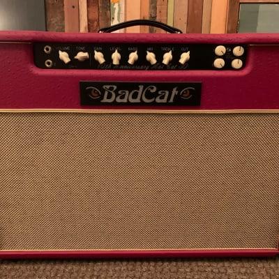 """Bad Cat Hot Cat 30R 30-Watt RARE 2x12"""" Guitar Combo 10th Anniversary Issue 2010s Red"""