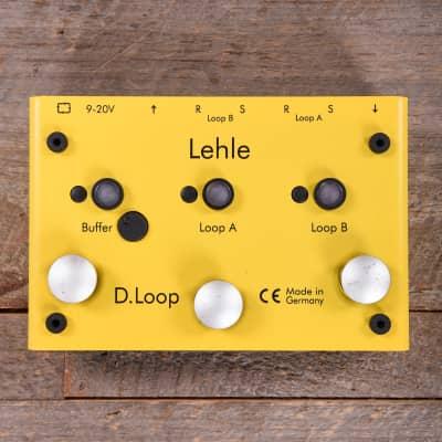 Lehle D-Loop Stereo Effects Looper/Switcher MINT