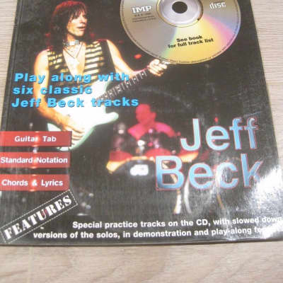 Jeff Beck In Session with Audio CD Sheet Music Song Book Guitar Tab Tablature