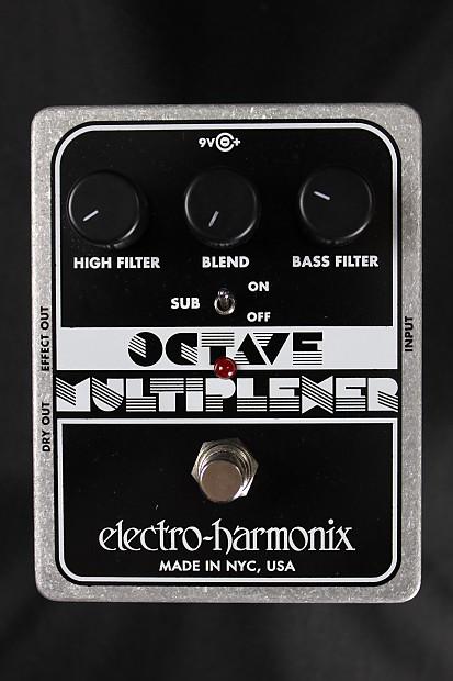 electro harmonix octave multiplexer skip 39 s music reverb. Black Bedroom Furniture Sets. Home Design Ideas