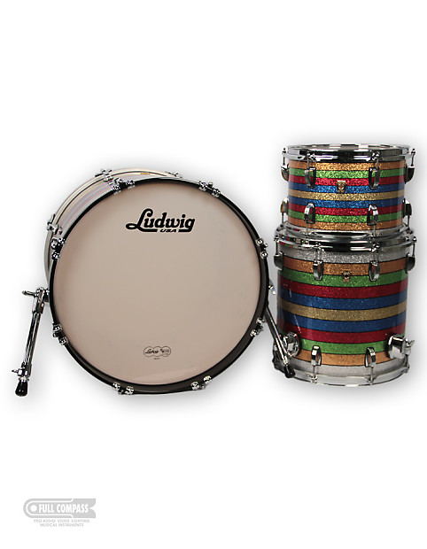 Ludwig Drums L8303LXPC 3 Piece Salesman Sample Classic Maple Drum Shell Pack