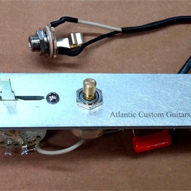 Atlantic Custom Guitars- Telecaster 3 Way Reverse Wiring Harness CTS ...
