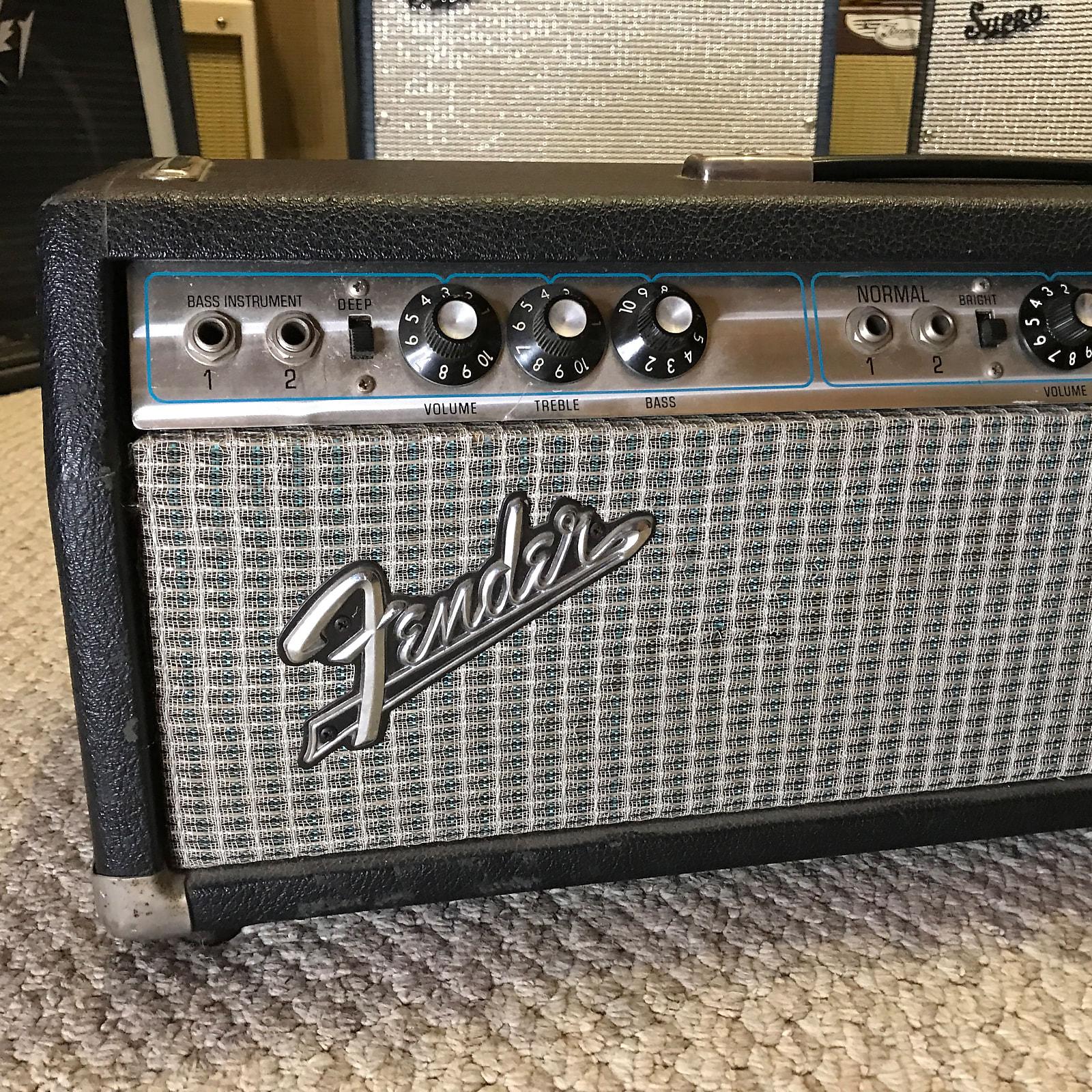Fender Bassman 100 Vintage 2-Channel 100W Tube Head 1972