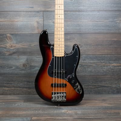 Fender Deluxe Active Jazz Bass V 3-Color Sunburst. 5 String Bass with Gig Bag for sale