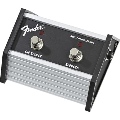 """Fender 007-1359-000 2-Button Footswitch with 1/4"""" Jack for Super Champ XD"""