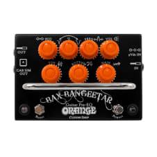 Orange Amplifiers Bax Bangeetar Pre-EQ Guitar Effects Pedal - Black