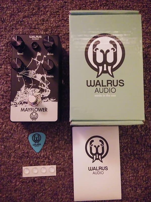 walrus audio mayflower overdrive pedal black color reverb. Black Bedroom Furniture Sets. Home Design Ideas