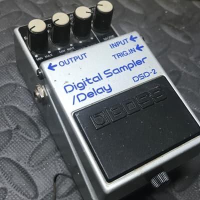 Boss DSD-2 Digital Delay Sampler Pedal MiJ Blue Label